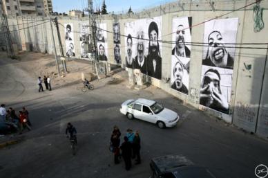 28 Millimeters, Face2Face, Separation Wall Secrutity Fence Israeli Side, Abu Dis, Jerusalem, 2007