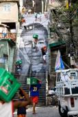 28 Millimeters, Women are Heroes, Women are Heroes, Action dans la Favela, Morro da Providencia, Favela de jour, Rio de Janeiro, Brésil, 2008