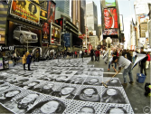 INSIDE Out NYC - IOP on Times Square, general view