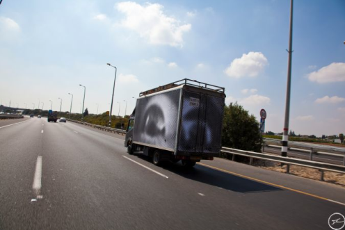 INSIDE OUT PROJECT - Photobooth Truck On the Road to Jerusalem, Septembre 2011