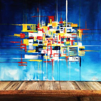 4 - Janvier 2014 - 80 x 100 cm